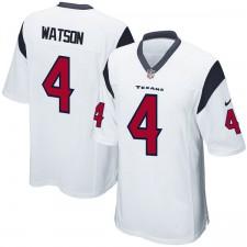 Herren Houston Texaner DeShaun Watson Nike weiß 2017 Entwurf Pick Spiel Trikot