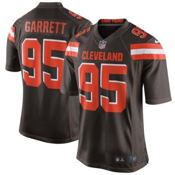 Herren Cleveland Browns Hansen Garrett Nike Brown 2017 Entwurf Pick Spiel Trikot