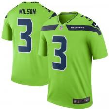 Männer Seattle Seahawks Russell Wilson Nike Green Farbe Rush Legende Trikot