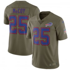 Herren Buffalo Bills LeSean McCoy Nike Olive Salute to Service Begrenzt Trikot