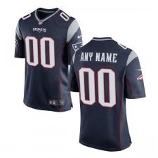 Herren New England Patriots Nike Navy Benutzer Spiel Trikot