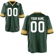 Herren Green Bay Packers Nike Grün Benutzer Spiel Trikot