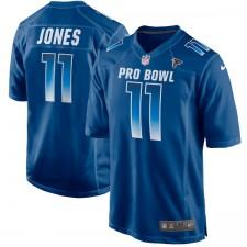 Herren NFC Julio Jones Nike Royal 2018 Pro Bowl Spiel Trikot