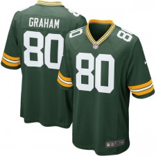 Herren Green Bay Packers Jimmy Graham Nike Grün Spiel Trikot