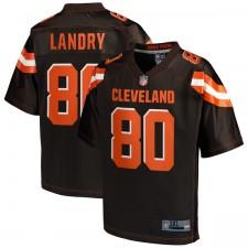 Herren Cleveland Browns Jarvis Landry NFL Pro Line Brown Team Farbe Big & Tall Trikot