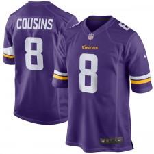 Männer Minnesota Vikings Kirk Cousins Nike Purple Spiel Trikot