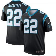 Männer Carolina Panthers Christian McCaffrey Nike schwarz Legende Trikot
