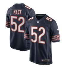 Männer Chicago Bears Khalil Mack Nike Navy Spiel Trikot