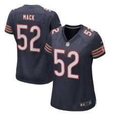 Frauen Chicago Bears Khalil Mack Nike Navy Spiel Trikot