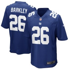 Jugend New York Giants Saquon Barkley Nike Royal Spiel Trikot