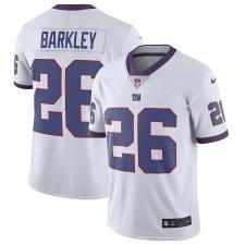 Männer New York Giants Saquon Barkley Nike Weiß Farbe Rush Begrenzte Trikot