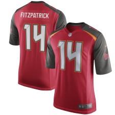 Männer Tampa Bay Buccaneers Ryan Fitzpatrick Nike Rot Spiel Trikot