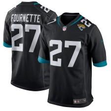 Männer Jacksonville Jaguars Leonard Fournette Nike Schwarz Neu 2018 Spiel Trikot