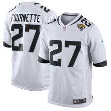 Männer Jacksonville Jaguars Leonard Fournette Nike Weiß Neu 2018 Spiel Trikot