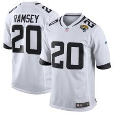 Männer Jacksonville Jaguars Jalen Ramsey Nike Weiß Neu 2018 Spiel Trikot
