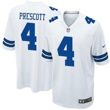 Jugend Dallas Cowboys Dak Prescott Nike Weiß Spiel Trikot