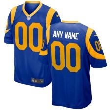 Männer Los Angeles Rams Nike Royal 2018 Alternative benutzerdefinierte Spiel Trikot