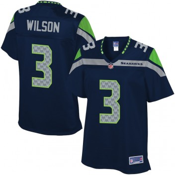 Pro Line Frauen Seattle Seahawks Russell Wilson Farbe Team trikot