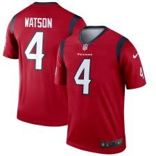Herren Houston Texans Deshaun Watson Nike rote Legende Trikot