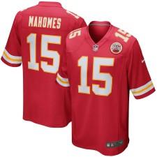 Jugend Kansas City Chiefs Patrick Mahomes Nike Rot Spiel Trikot