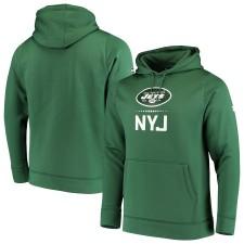 Herren New York Jets Under Armour Grün Kombinieren echt Lockup Pullover Hoodie