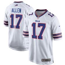 Männer Buffalo Bills Josh Allen Nike Weiß Spiel Trikot