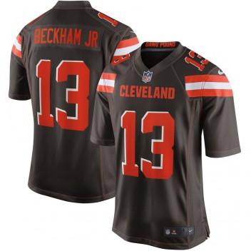 Männer Cleveland Browns Odell Beckham Jr Nike Brown Spiel Trikot