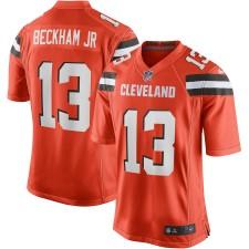 Männer Cleveland Browns Odell Beckham Jr Nike Orange Spiel Trikot