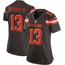Frauen Cleveland Browns Odell Beckham Jr Nike Braun Spiel Trikot
