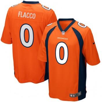 Männer Denver Broncos Joe Flacco Nike Orange Spiel Trikot