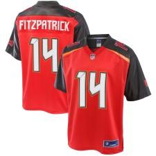 Männer Tampa Bay Buccaneers Ryan Fitzpatrick NFL Pro Line Rot Große & Hoch Spieler Trikot