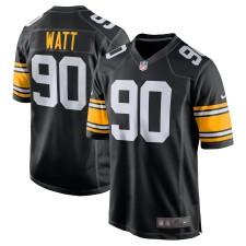 Herren Pittsburgh Steelers T.J. Watt Nike Schwarz Alternative Spiel Trikot