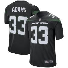 Herren New York Jets Jamal Adams Nike Schwarz Spieler Spiel Trikot