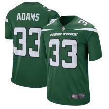 Herren New York Jets Jamal Adams Nike Grün Spieler Spiel Trikot