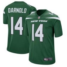 Herren New York Jets Sam Darnold Nike Grün Spieler Spiel Trikot