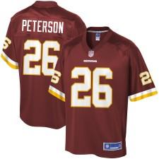 Männer Washington Redskins Adrian Peterson NFL Pro Line Burgundy spieler Trikot