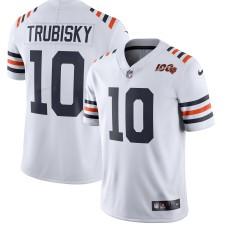 Herren Chicago Bears Mitchell Trubisky Nike Weiß 2019 100. Saison Abwechselnd Klassisch Begrenzt Trikot