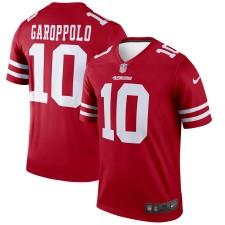 Herren San Francisco 49ers Jimmy Garoppolo Nike Scharlachrot Sage Trikot