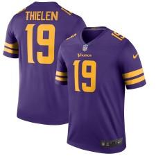 Herren Minnesota Vikings Adam Thielen Nike lila Farbe Hasten Sage Spieler Trikot