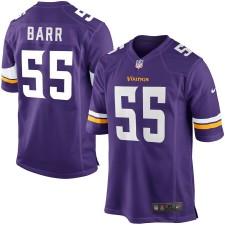 Herren Minnesota Vikings Anthony Barr Nike Lila Spiel Trikot