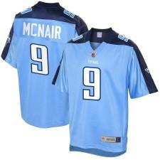 Herren Tennessee Titans Steve McNair NFL Pro Line Licht Blau Pensioniert Spieler Trikot