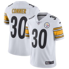 Herren Pittsburgh Steelers James Conner Nike Weiß Vapor Unantastbar Begrenzt Trikot