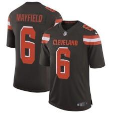 Herren Cleveland Browns Baker Mayfield Nike Brown Geschwindigkeit Maschine Begrenzt Trikot