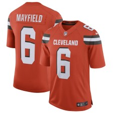 Herren Cleveland Browns Baker Mayfield Nike Orange Begrenzt Trikot