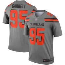 Herren Cleveland Browns Myles Garrett Nike Grau Invertierte Legende Trikot