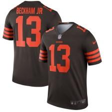 Herren Cleveland Browns Odell Beckham Jr Nike Brown Farbe Hasten Sage Spieler Trikot