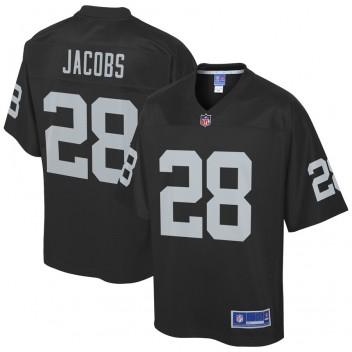 Jugend Oakland Raiders Josh Jacobs NFL Pro Line Schwarz Mannschaft Spieler Trikot