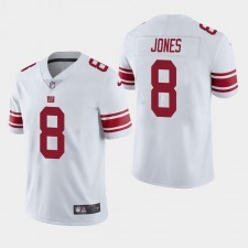 Herren New York Giants Daniel Jones 2019 NFL Draft Vapor Limited Trikot - Weiß