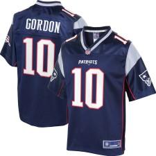 Das New England Patriots Josh Gordon NFL Pro Line Navy Player-Trikot für Herren
