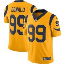 Herren Los Angeles Rams Aaron Donald Nike Gold Farbe hasten Dampf begrenzt Trikot